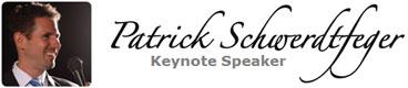 Keynote Speaker, Patrick Schwerdtfeger
